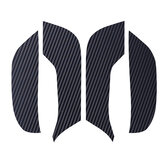 4Pcs Carbon Fiber Car Doors Anti-Kick Pads Cover Stickers For Tesla MODEL 3