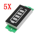 5 stks 2S Lithium Batterij Power Indicator Board Elektrisch voertuig Batterij Power Indicator 8 V Power Opslag