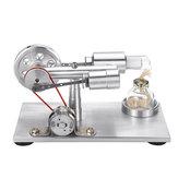 Modelo de baixo nível de ruído do motor de Stirling do ar quente com o presente claro da coleção das fontes de aprendizagem do estudo de HASTE