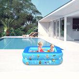 120/130/150 / 180см Interstellar Шаблон Детское надувное плавание Бассейн 2/3 слоя надувной ванны Детские летние водные забавные игрушки