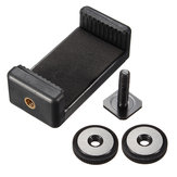 1 / 4inch parafuso de tripé flash hot shoe adaptador com clip para telefone Nikon DSLR SLR camera iPhone