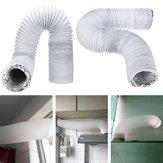 3M 5 Polegadas de Escape Mangueira PVC Condensador De Ar Condicionado Tubo de Escape Mangueira Substituição Mangueira Extend Vent