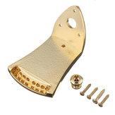 Triângulo dourado Peças de reposição da cauda do mandolina de 8 cordas