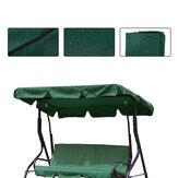 2/3 places taille vert anti-UV extérieur jardin Patio balançoire pare-soleil couverture étanche auvent siège couverture supérieure