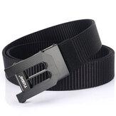 TUSHI 125x3,5 cm Tactical Belt Nylon Gurtband Hochleistungs-Metallschnallengürtel zum schnellen Fischen