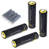 4個Soshine 3.7 v 800 mah AAリチウムイオン電池保護高放電充電式バッテリー+ボックス