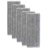 5個交換可能ウォッシュウェットドライクリーニングモップ詰め替えクリーナー布ナプキン交換