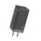 [GaN Tech] Baseus 45W USB PD Charger PD3.0 PD2.0 QC3.0 FCP SCP Fast Charging Wall Charger Adapter With US Plug Adapter For iPhone 12 12 Mini 12 Pro Max For Samsung Galaxy Note 20 Xiaomi Mi10 Huawei Mate 40 OnePlus 8T