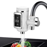 KCASA WF-009 3000W Kitchen Water Faucet  3 Sec LED Electric Water Heating Machine Rotatable Hot / Cool Water Tap With Temp Display