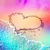 DIY Diamond Painting Love Beach Embroidery Sale Diamond Art Home Wall Decorations Gifts for Kids Adult Supplies