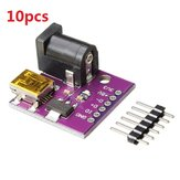 10pcs CJMCU 5V Mini USB Power Conector DC Power Tomada Placa para