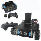Kit de châssis de voiture intelligente 4WD avec pilote de moteur UNO carte de développement et contrôleur sans fil PS2