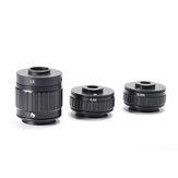 HAYEAR 1X 0,35X 0,5X Adaptador de lente C-mount Foco Instalação da câmera ajustável Adaptador C-mount para o novo microscópio estéreo Trinocular Tipo