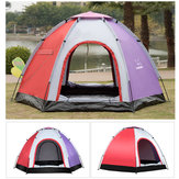 Outdoor 5-6 Personen Pop-Up Camping Zelt Wasserdicht UV Proof Strand Sonnenschirm Shelter