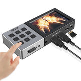 Ezcap273 HD 1080P 60fps AV/HDMI Audio Video Capture Card Game Recorder Recording Box To TF Card Can Playback Mic In Input