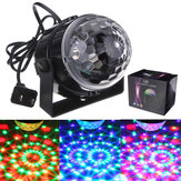 Mini RGB LED Party Disco Club DJ Licht Crystal Magic Ball Effekt Bühnenlicht