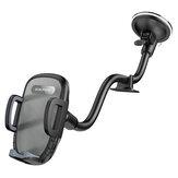 Borofone BH54 pare-brise/tableau de bord bras réglable flexible col de cygne voiture ventouse support de téléphone portable support de support