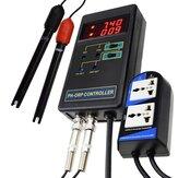 Цифровой контроллер окислительно-восстановительного потенциала 2 в 1 с отдельными реле Сменный электрод BNC Тип Зонд Тестер качества воды М