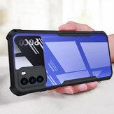Bakeey for POCO M3 Caso com pára-choques antichoque anti-impressão digital acrílico transparente protetor Caso