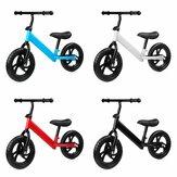12 дюймов Kids Best Регулируемый балансировочный велосипед без педали для детей от 1 до 7 лет Детский велосипед для малышей с нескользящими твер