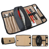 Durable Waterproof Canvas Electrician Roll Up Hardware Tool Bag Storage Bag