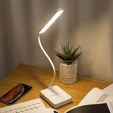 3 режима регулируемый прикроватный столик Лампа с регулируемой яркостью сенсорного управления LED ночной свет