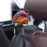 Baseus Foldable Adjustable Clip Car Backseat Hook Stand Headrest Holder for Xiaomi Smart Phone