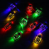 1.65M LED Fairy String Light Oil Lamp Ramadan Islam Decor For EID Party