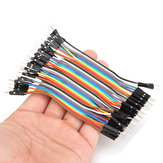 120pcs 10cm Male To Male Jumper Cable Dupont Wire For