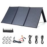 XMUND XD-SP2 100W 18V Солнечная Панель 3-USB + DC PD Быстрая зарядка На открытом воздухе Водонепроницаемы Солнечная Зарядное устройство для Кемпинг Travelin