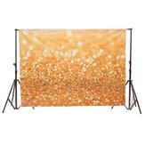7x5ft 2.1x1.5m Vinyl Golden Glitter Pailletten Thema Fotografie Hintergrund Foto Studio Hintergrund
