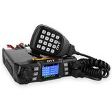 QYT KT-980 Plus VHF 136-174 MHz UHF 400-470 MHz 75 W Dual Band Base Car Mobile Radio Amator