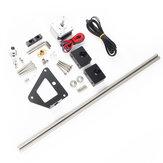 Kit de actualización de cable de doble eje Z de aluminio Tornillo para pieza de impresora 3D Creality 3D Ender-3/3S / 3pro