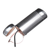 Aluminium Lunettes de soleil Protector Case Box Silver Hard Metal Glasses Storage Case