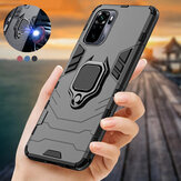 Bakeey for Xiaomi Redmi Note 10 Case Armor Shockproof Magnetic with 360 Rotation Finger Ring Holder Stand PC Protective Case Non-Original