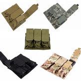 Molle Nylon Çok Amaçlı Paket Triple Paquete Accesorios Çantalar