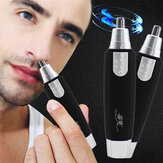 Electric Rotation Nose Ear Trimmer Neck Hair Eyebrow Shaver Face Removal Pen