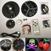 DIY lemez forgó LED készlet színes forgó LED színes POV lapos színes LED elektronikus gyártás