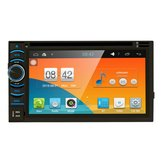 Car Stereo Android 4.4 Quad Core WiFi 3G 6.5 Inch Car GPS DVD Player 2 Din Radio Stereo