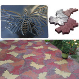 Butterfly Stepping Stone Mold Concrete Cement Brick Mould For Park Garden Path