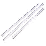 Reusable Wedding Birthday Party Clear Glass Drinking Straws Thick Straw