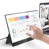 BlitzWolf® BW-PCM7 15,6 polegadas tocável FHD 1080P Type C Monitor de computador portátil tela de exibição de jogos para smartphone tablet consoles de jogos de laptop