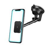 USAMS磁気ロングアームダッシュボードフロントガラスエアベント車電話ホルダーカーマウント4.7-7.0インチスマートフォン用iPhone 11 SamsungギャラクシーS20 Xiaomi