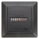 Timer Square Counter Digital 0-99999.9 Hour Meter Hourmeter Gauge AC220-240V