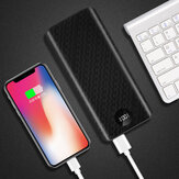 Bakeey 20000mAh 18 W DIY Power Bank Caso LCD Display para iPhone XS 11Pro Mi10 Note 9S POCO X2 Huawei P40 Pro 5G
