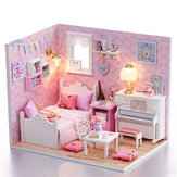 DIY Handcraft Dollhouse Miniature Project Dolls House My Little Angels Piano Room