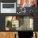 Rua de anime pag rótulo gomado 3as etiquetas de parede de rótulo gomado de escrivaninha presente de cenário de mesa de escrivaninha de parede de casa