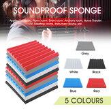 4Pcs / Set 50x50X5CM Panneau de mousse acoustique Traitement à domicile Carreaux d'absorption acoustique