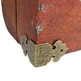 12szt Uchwyt narożny Protector Okucia do mebli drewnianych Box Feet Decoration