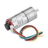 Machifit25GA370DC6VMicro-Getriebemotormit Encoder-Drehzahlreduzierung